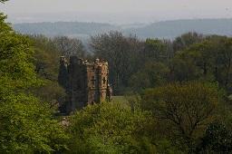 Hackfall Woods - Mowbray Castle