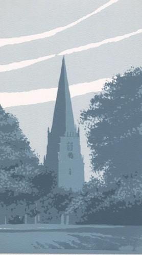 Ian Scott Massie Screen Print - Masham Gallery