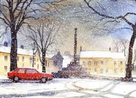 Ian Scott Massie Watercolour - Masham Gallery