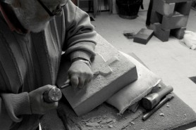 Learning Stone Carving techniques at ArtisOn