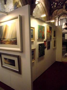 Masham Arts Festival - Art Exhibition in St Marys Church