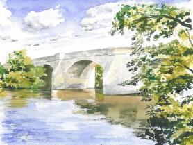 Masham Bridge by David Mayoh