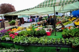 Masham Market Day by Bill Tetlow