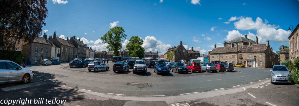 Masham Market Place Panorama by Bill Tetlow