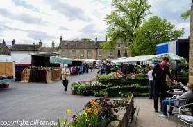 Masham Market Place by Bill Tetlow