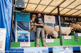 Masham Sheep Fair - Black sheep Show by Bill Tetlow