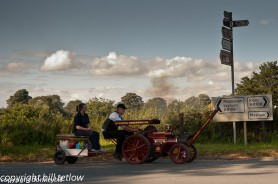 On the Move - Steam Rally by Bill Tetlow