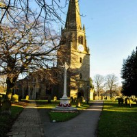 St Marys Church from the Market Place by Bill Tetlow