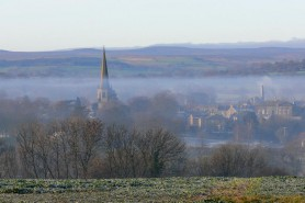 St Mary's-Misty Morning by ian Whitaker