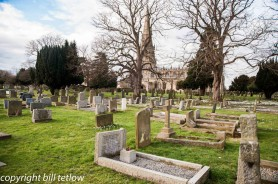 St. Mary's Church Yard by Bill Tetlow