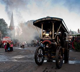 Steaming in the Market Place - Feature Image