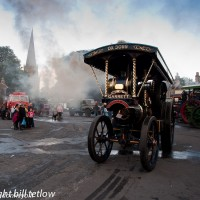 Steaming in the Market Place by Bill Tetlow