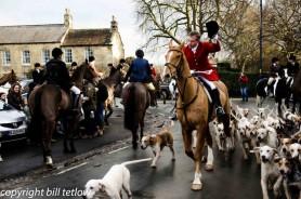 The Hunt Come to Masham by Bill Tetlow
