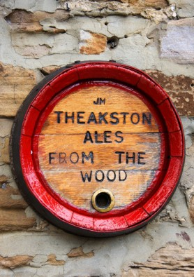 Theakstons Ales.  K Holland