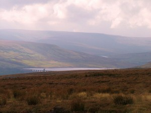 View to Scar House Reservoir